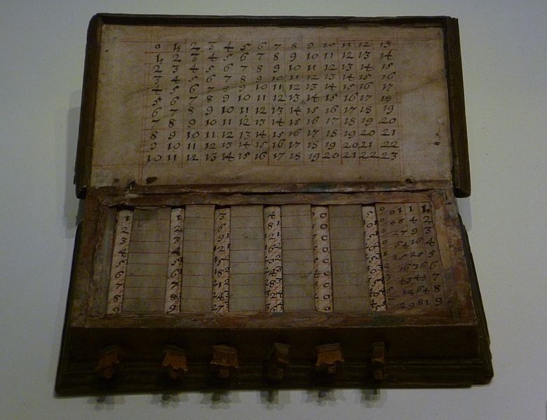 Napiers calculating tables
